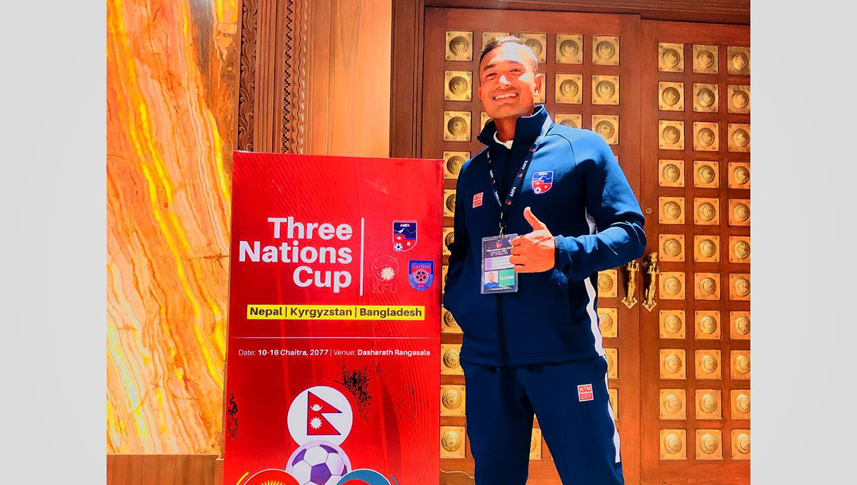 Nepali footballer Maharjan announces retirement