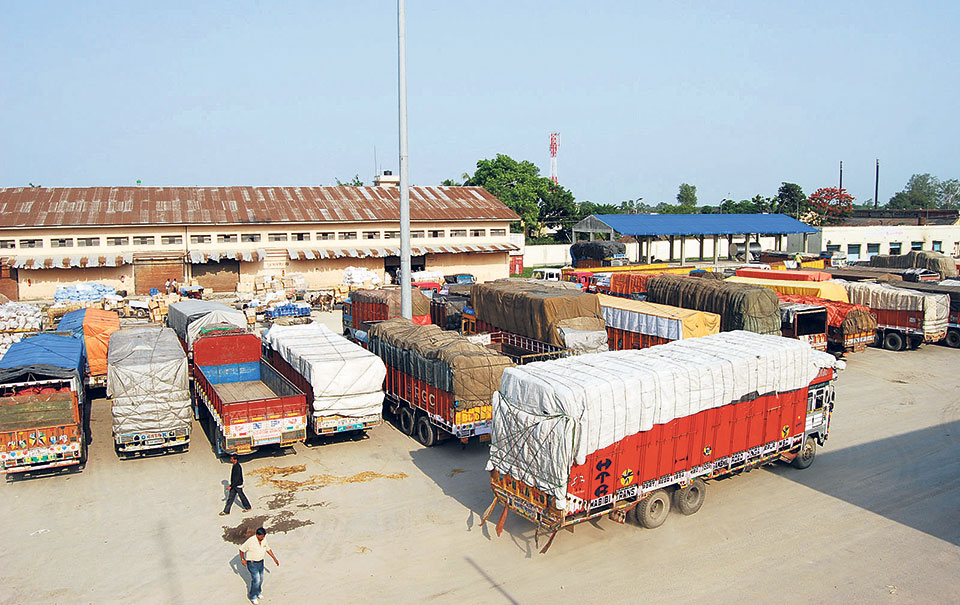 Import of industrial raw material decreases