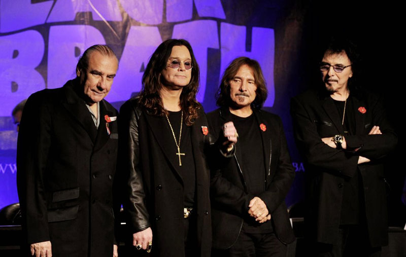 Black Sabbath say last rites on touring in homecoming
