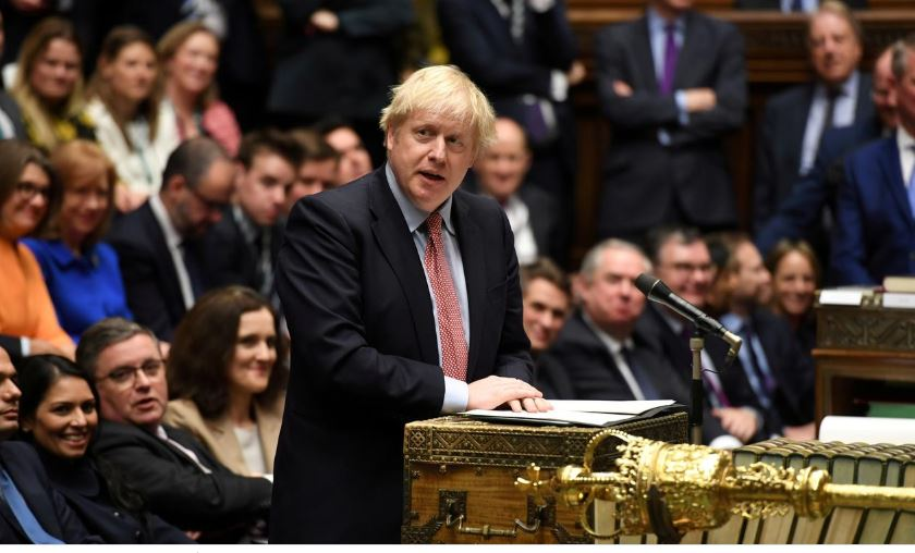 Johnson promises to wrap up Brexit for Christmas, parliament to vote