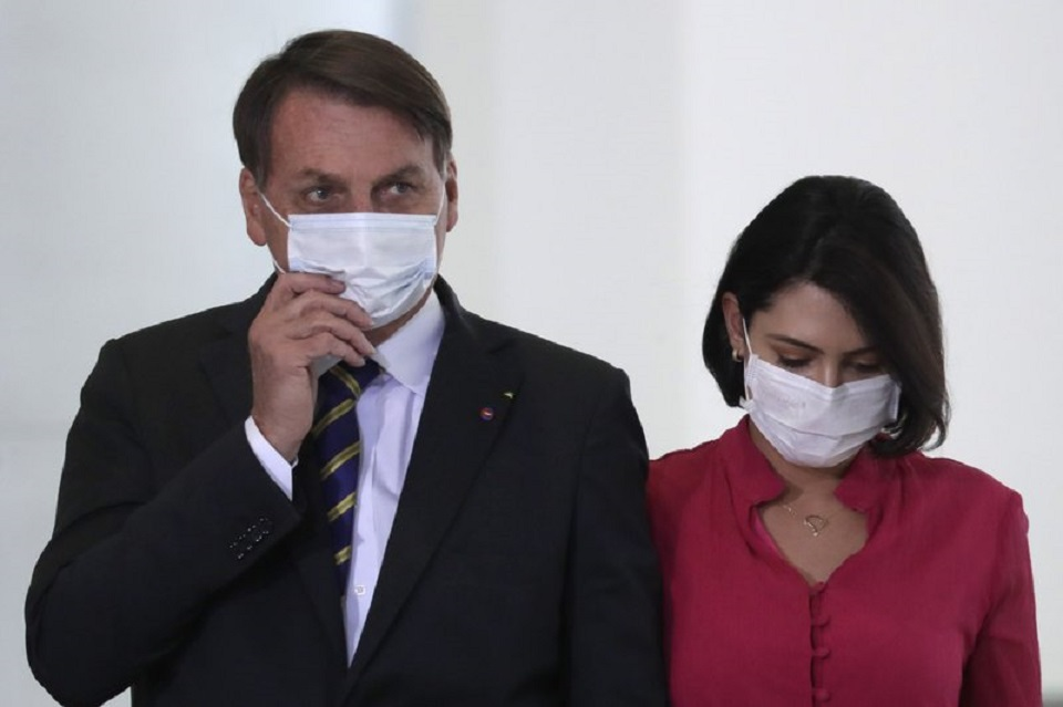 Another Brazil cabinet member tests positive