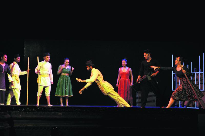 Ruslan Broadway show kicks off in Kathmandu