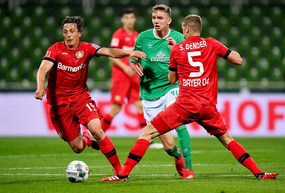 Havertz double helps Bayer to 4-1 win at Werder