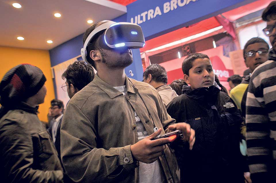 CAN Info-Tech attracts youths in droves