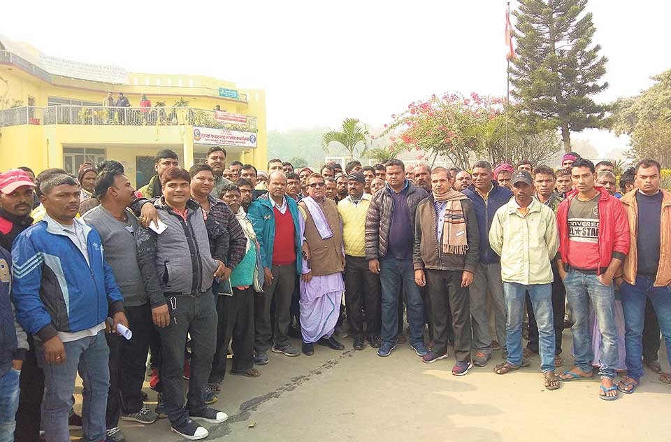 MoC team reaches Birgunj to sort out dirty cargo issue