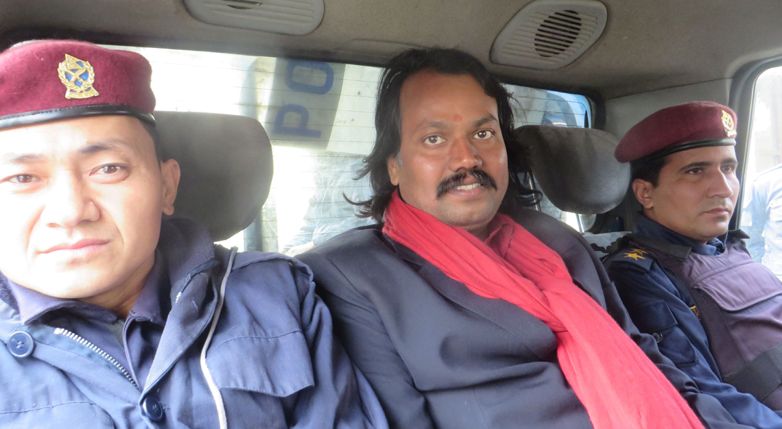 Secessionist CK Raut produced before court