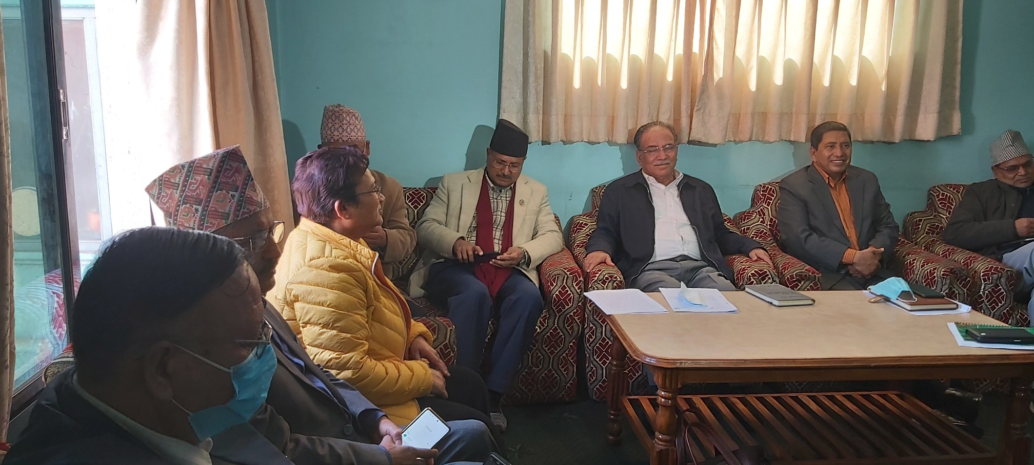 Maoist Center entrusts party chairman Dahal to take decision to withdraw support to Oli-led govt