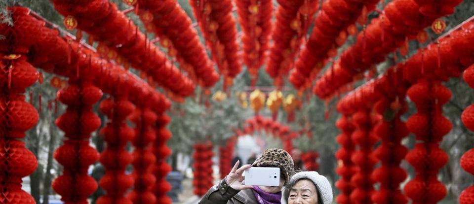 China leads
