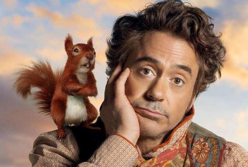New 'Dolittle' movie poster showcases Robert Downey Jr