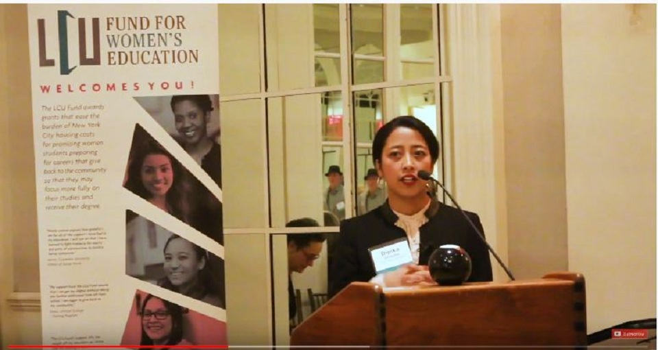 Nepali Podcaster Dipika Shrestha receives Leadership Award in New York