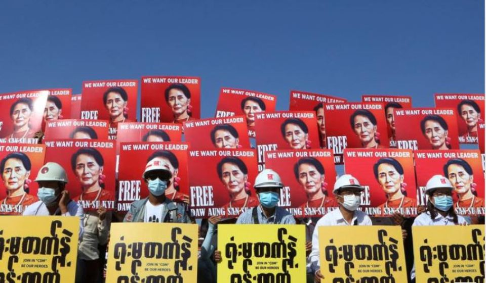 UN warns Myanmar against harsh response to protesters