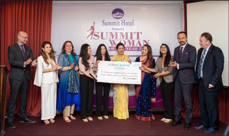 Shrestha sisters bag 'Summit Woman of the Year' award