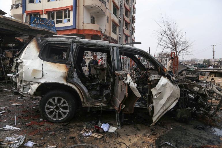Afghan journalist shot dead in car ambush