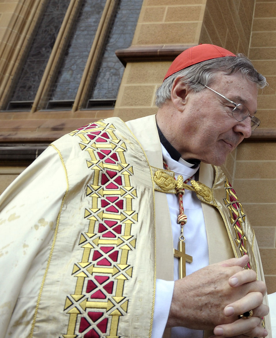 Australian police charge Vatican cardinal with sex offenses