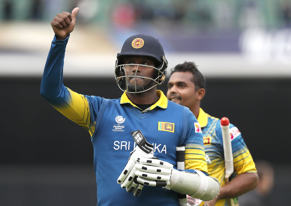 Sri Lanka stuns India by 7 wickets to upend Champions Trophy