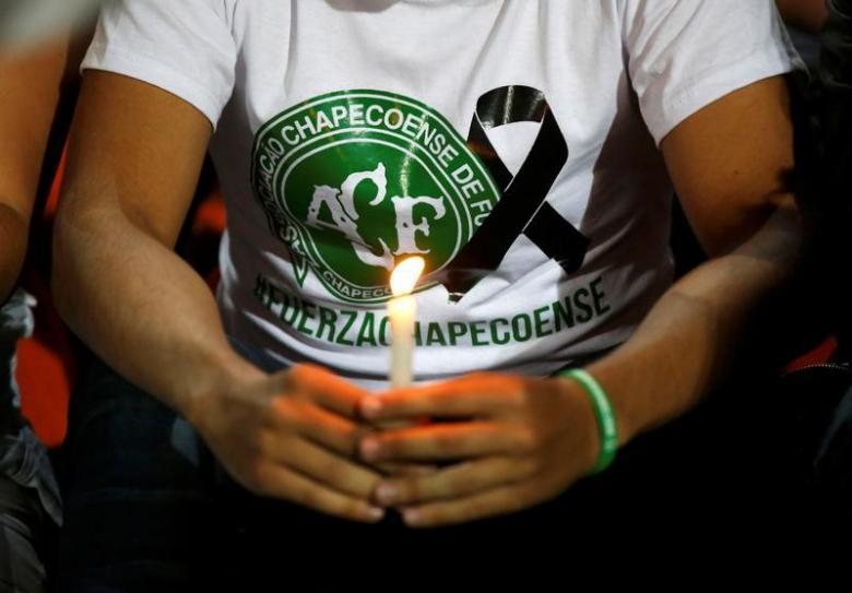 Brazil invite Colombia to play in Chapecoense charity match