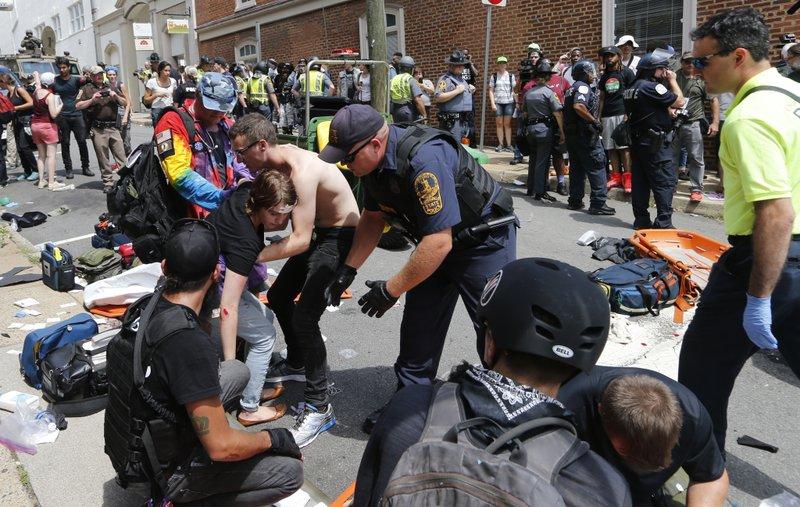 3 dead, dozens injured, amid violent white nationalist rallys injured, amid violent white nationalist rally