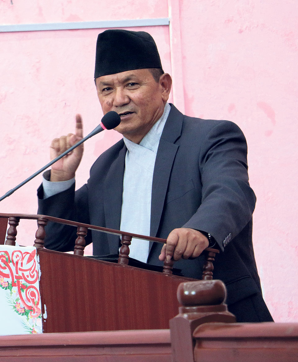 No-confidence motion filed against Gandaki CM Gurung, NC's Pokharel proposed as new CM