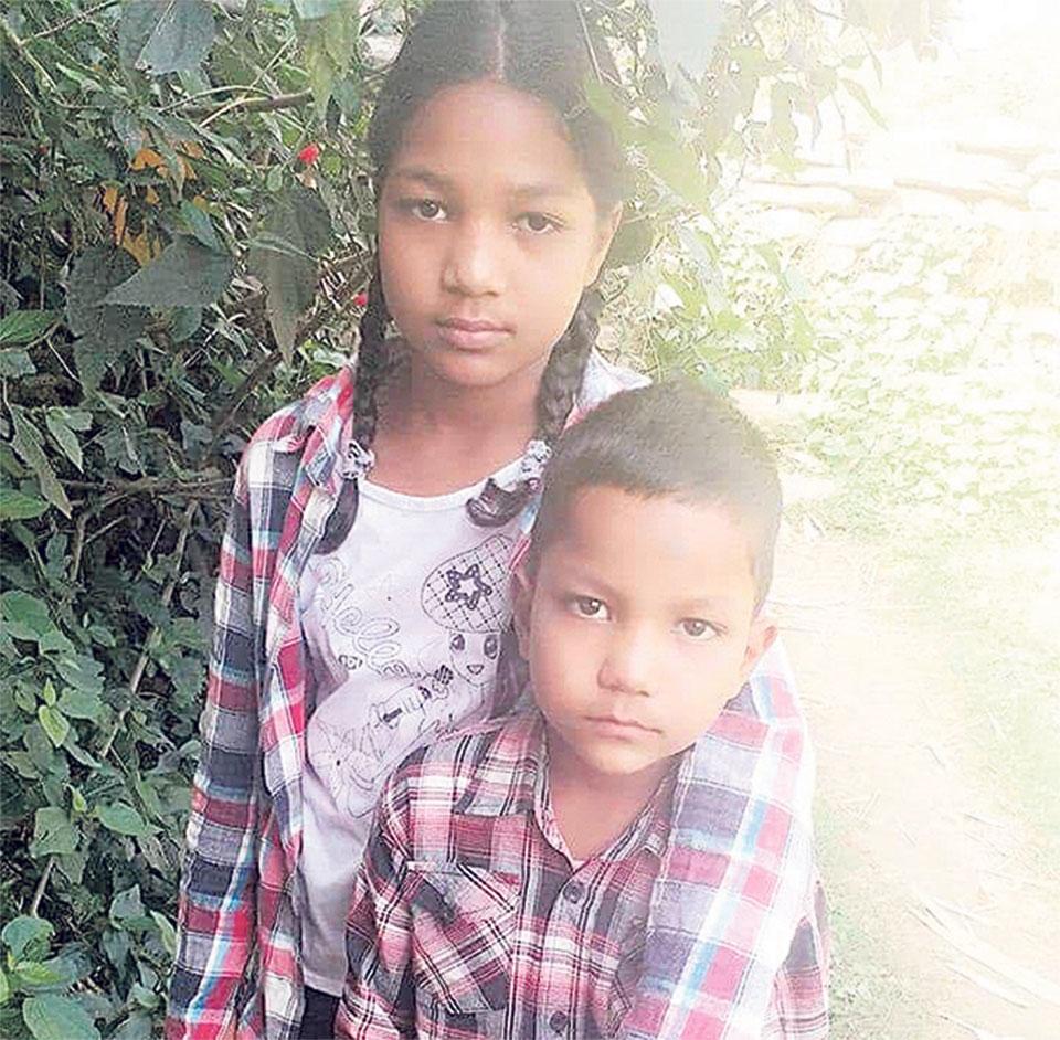 Siblings missing since more than a week