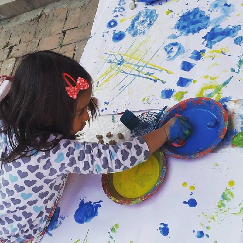 Boosting creativity in children