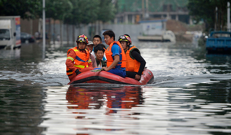 China flood death toll climbs to 75