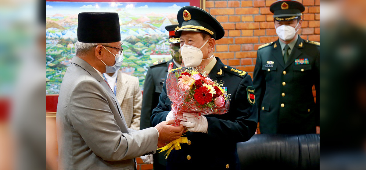 Chinese Defense Minister says his visit is aimed at deepening bilateral ties, military cooperation (with photos)