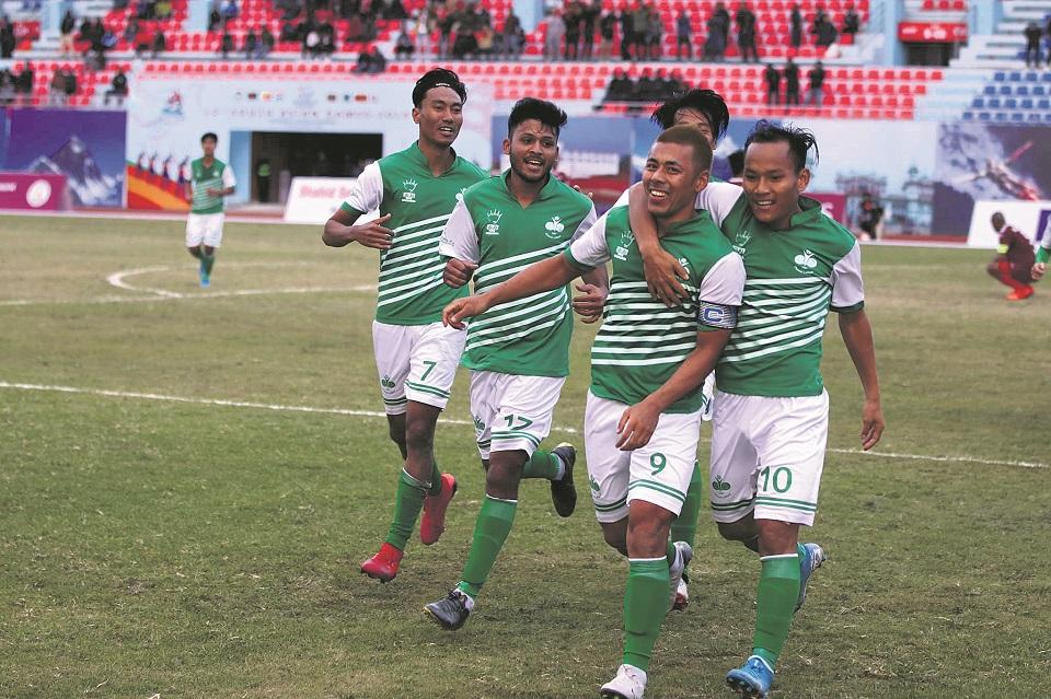 Santosh laments Nepali football's low standard