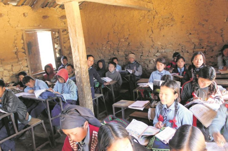Classrooms on the 'verge of collapse'