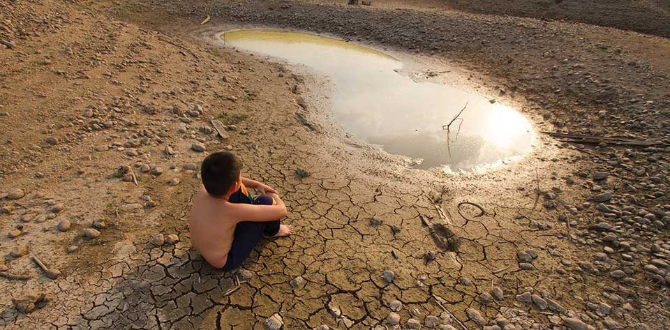 Global warming and hunger