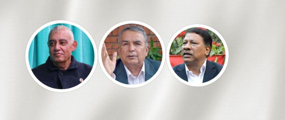 Poudel-led NC faction captures Deuba's liaison office