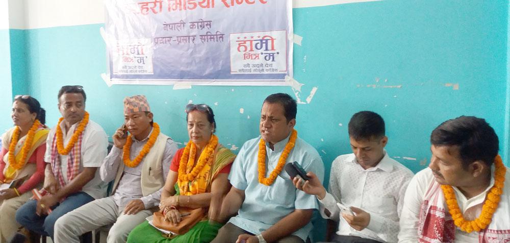 NC intensifies election campaigns in Biratnagar metropolis