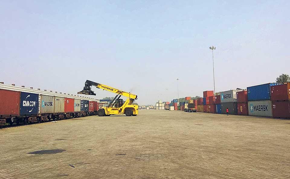 Import via Birgunj dry port increases
