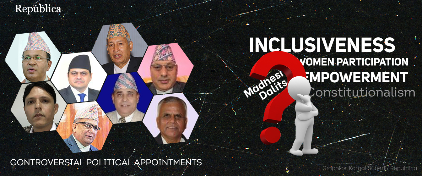 Oli govt's appointments are a mockery of the constitution: experts, NCP leaders