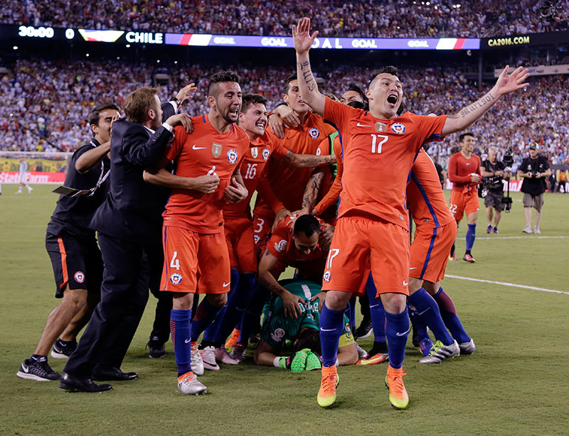 Chile wins 2nd straight Copa America title as Messi misses