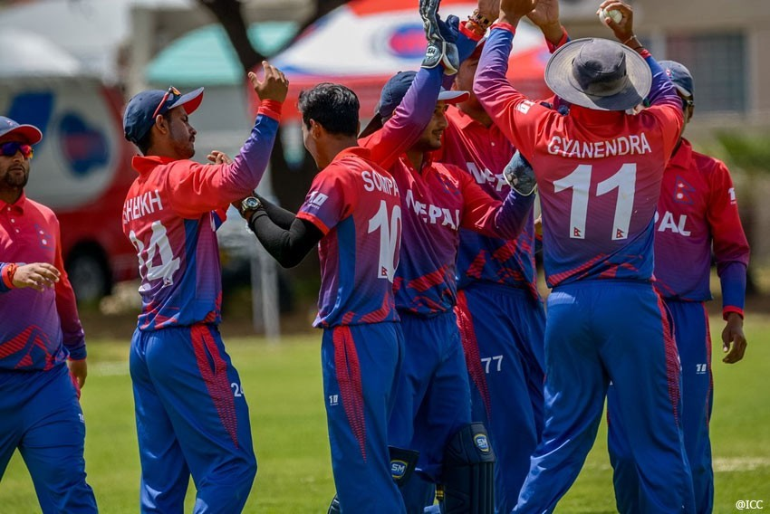 Nepal defeated by 45 runs
