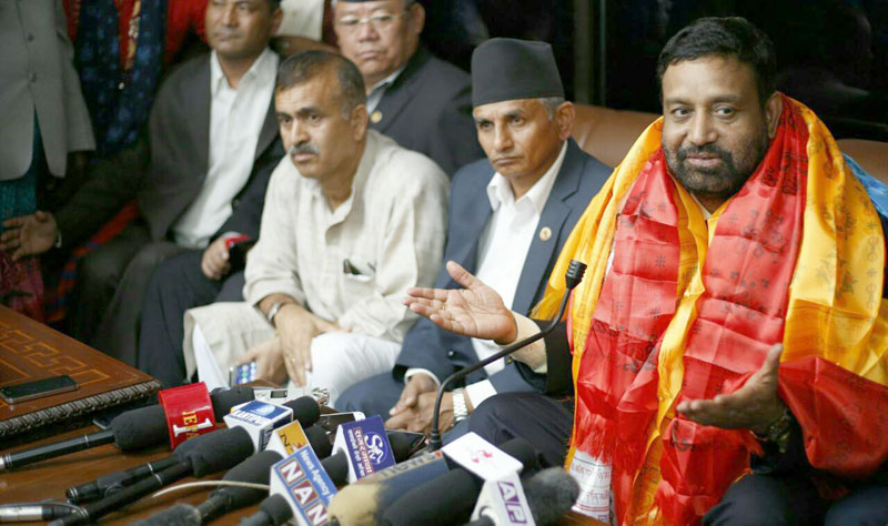 DPM Nidhi returns home wrapping up his five-day India visit