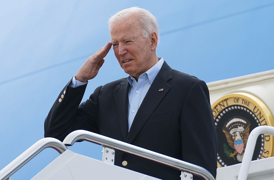 Biden begins European visit with a warning for Russia