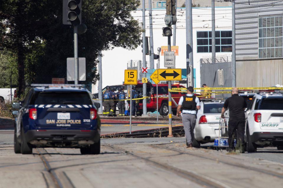 California transit worker kills 8, extending U.S. epidemic of mass shootings
