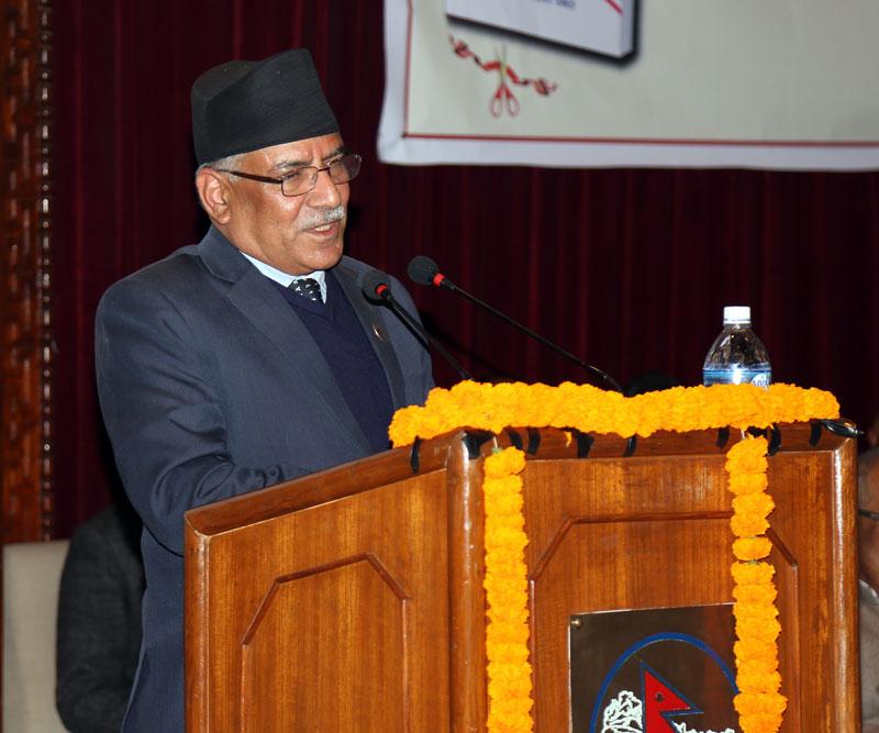 Constitution amendment to resolve political problems: PM Dahal