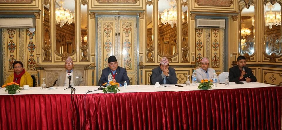 NCP (Dahal-Nepal faction) seeks support from int'l community including India and China to their battle against House dissolution