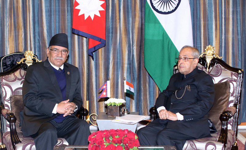 Indian President's visit will further strengthen mutual relation: PM Dahal
