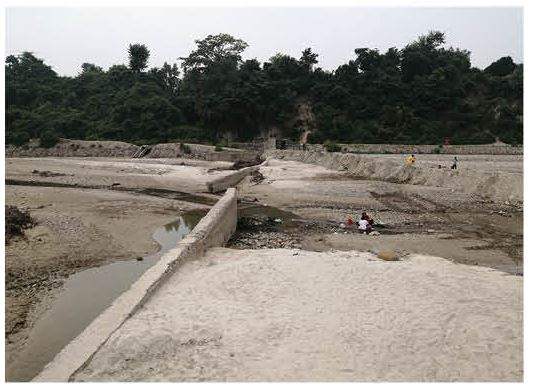Rs 42 million Siraha dam collapses five months after it was built