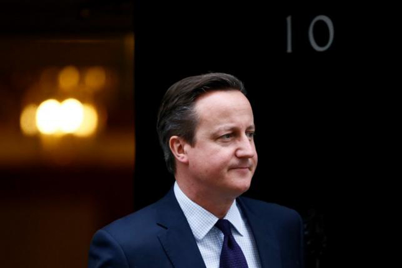 Former British PM David Cameron unveils new job