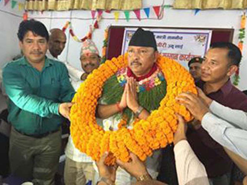 Minister Giri vows to make efforts to reopen Tulsipur Airport