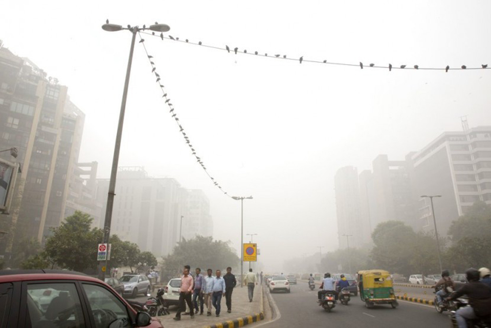 New Delhi declares emergency as toxic smog thickens by the hour