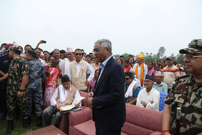 PM directs local authorities to attend flood survivors