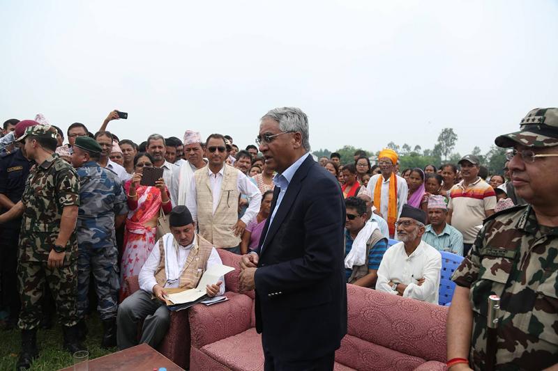 PM vows for due management of flood survivors