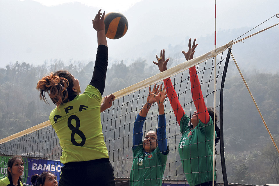 APF comes from a set down to beat Army 3-2