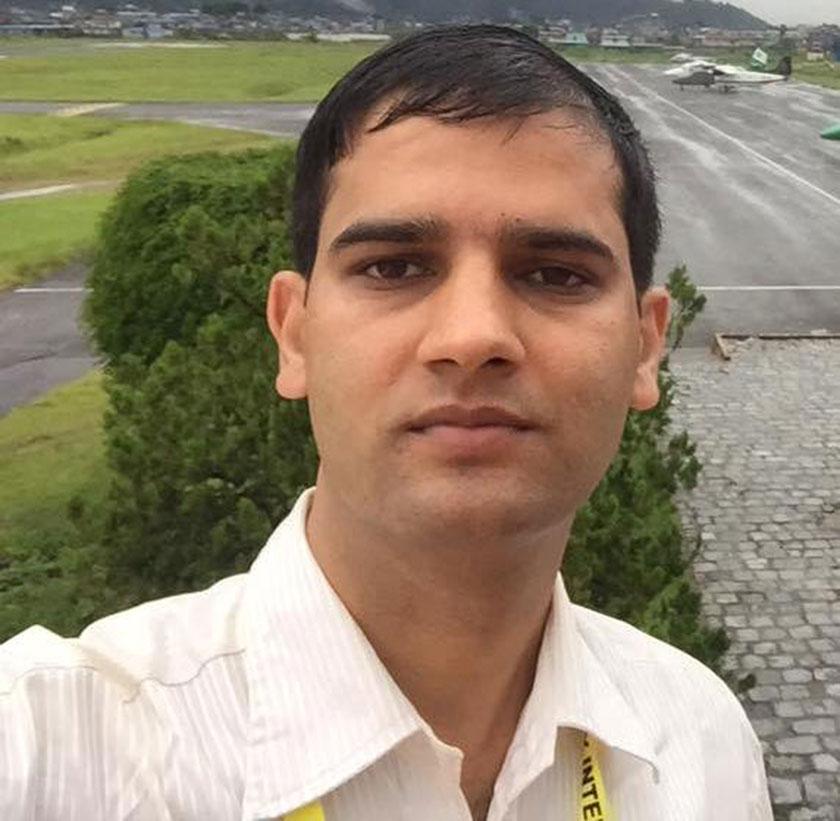 NOC MD Khadka threatens Nagarik journo Paudel