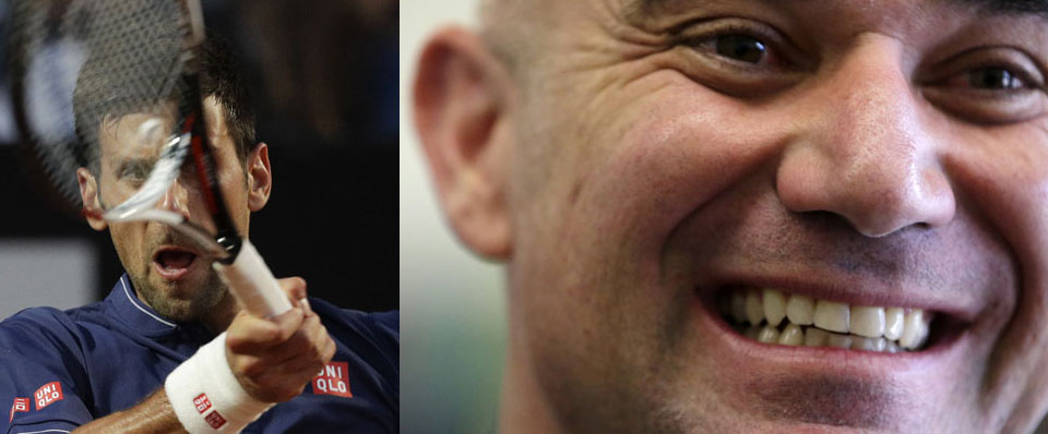 Djokovic announces Agassi will coach him at French Open